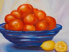 Bowl full of Oranges